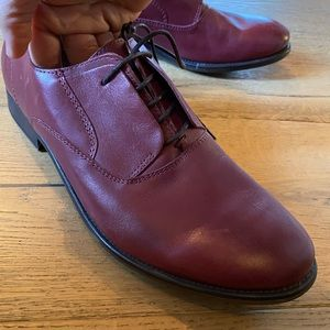 Zara Dark Red Dress shoe